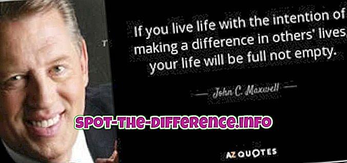 différence entre: Différence entre vivre, vivre et vivre