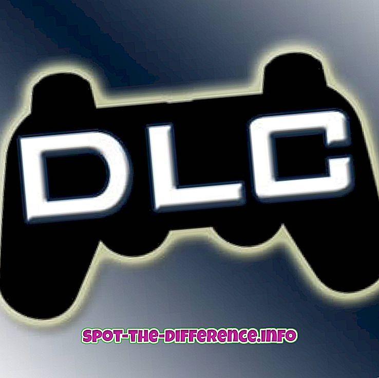 différence entre: Différence entre les packs DLC et les packs d'extension