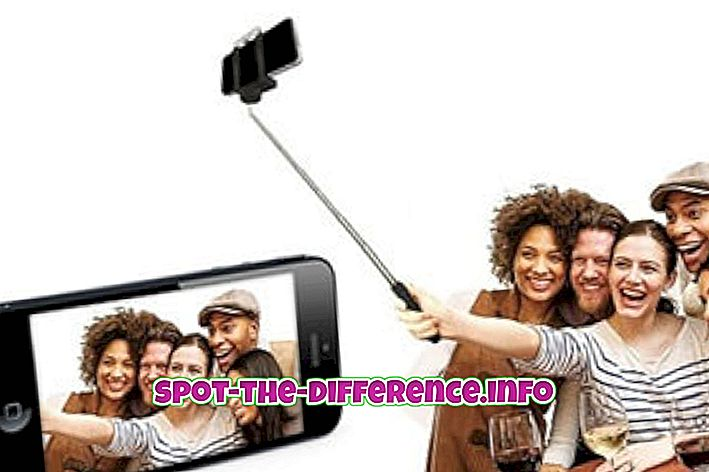 Differenza tra Selfie Stick e Monopod