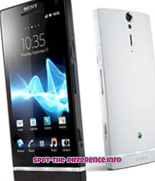 Différence entre Sony Xperia S et Sony Xperia T
