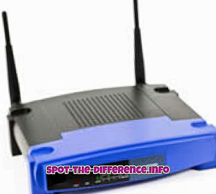 Diferencia entre Router y Switch