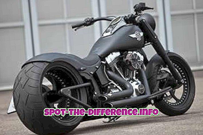 ความแตกต่างระหว่าง Harley Davidson และ Royal Enfield