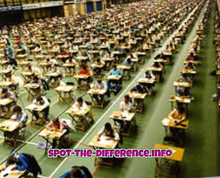 Unterschied zwischen normbezogenen und Kriterium-Referenztests