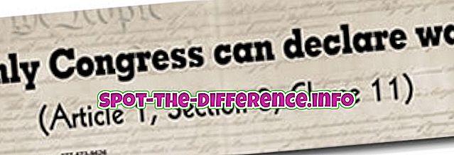 Unterschied zwischen