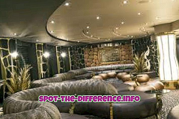 Różnica między salonem a pubem