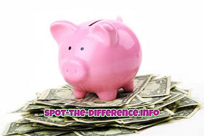Perbedaan antara Tabungan dan Investasi