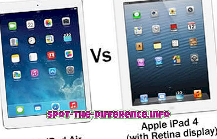 Differenza tra iPad e iPad Air