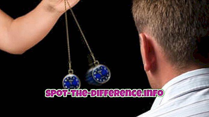 différence entre: Différence entre l'hypnose et l'hypnothérapie