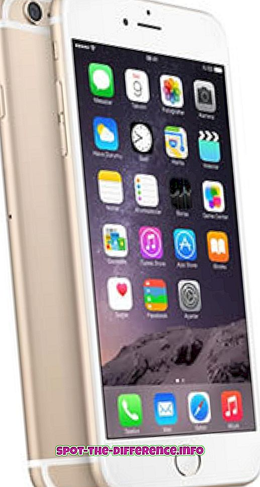 İPhone 6S Plus ve Samsung Galaxy S6 Edge Plus arasındaki fark