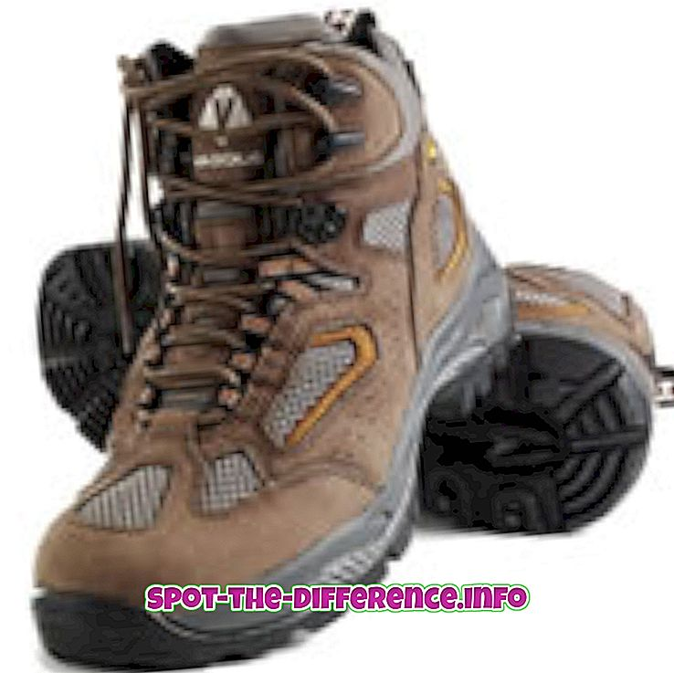 Perbedaan antara Hiking Boots dan Boots Backpacking
