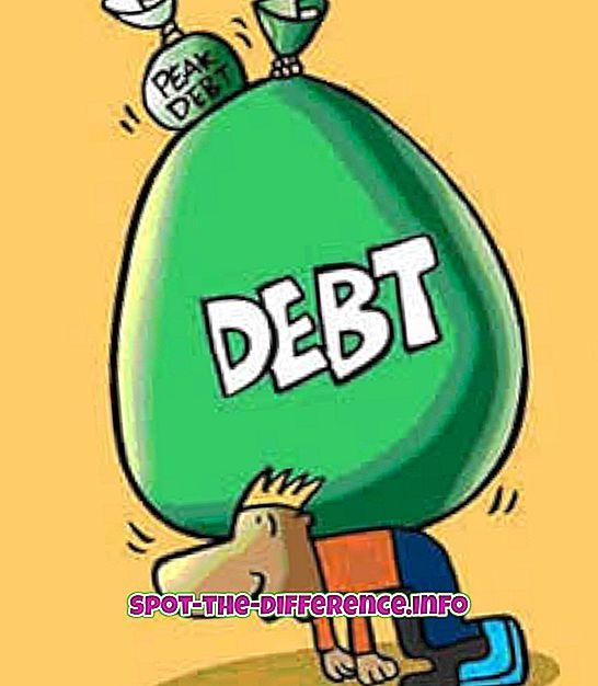 주식과 부채의 차이
