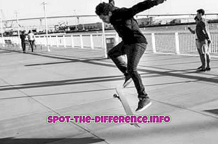 Perbedaan antara Kickflip dan Heelflip