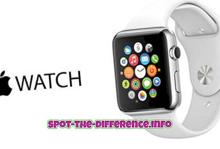 perbedaan antara: Perbedaan antara Apple Watch dan Android Wear
