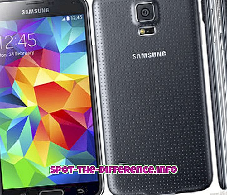 Differenza tra Samsung Galaxy S5 e iPhone 5S