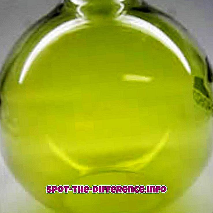 a különbség köztük: Különbség a klór és a fehérítő között