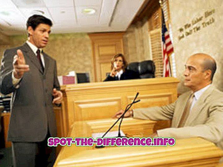 Unterschied zwischen Anwalt und Richter
