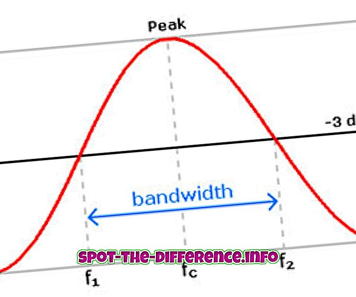 Ribalaiuse ja sageduse erinevus