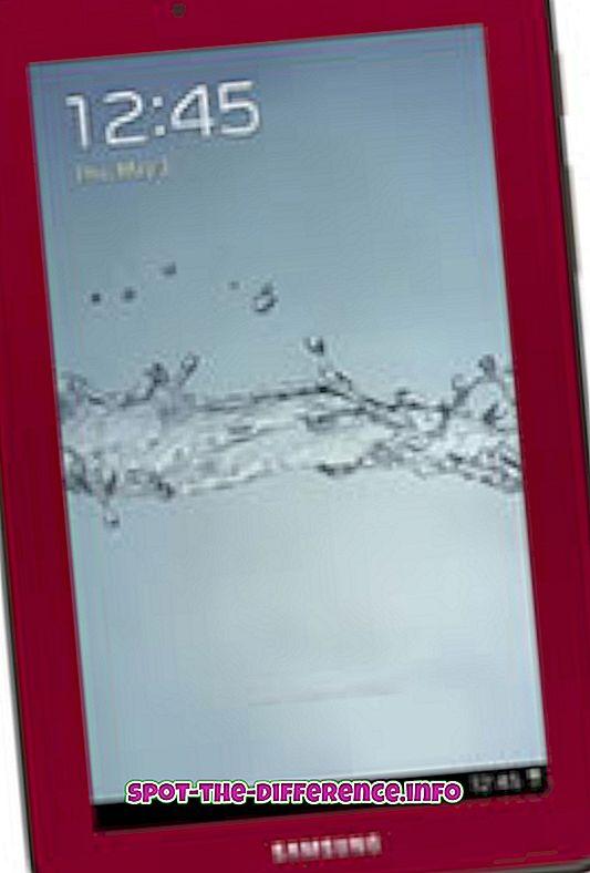 Diferença entre o Samsung Galaxy Tab 2 7.0 e o Samsung Galaxy Tab 2 10.1
