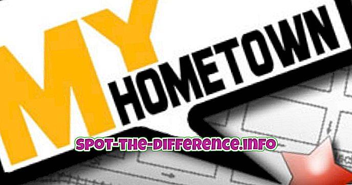Różnica między rodzimym a domicile