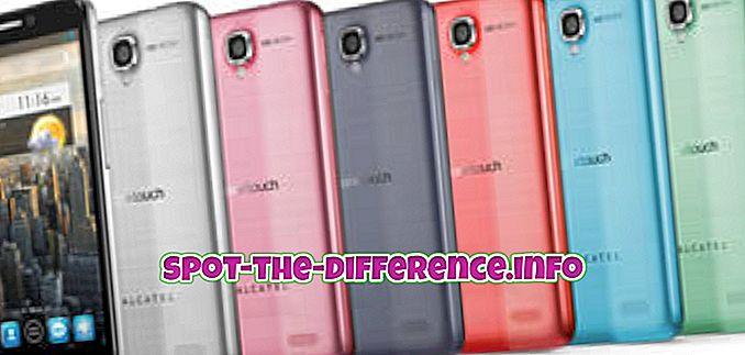 Perbedaan antara Alcatel One Touch Idol dan Nokia Lumia 720
