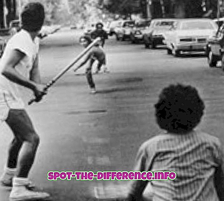 rozdiel medzi: Rozdiel medzi Stickball a Baseball