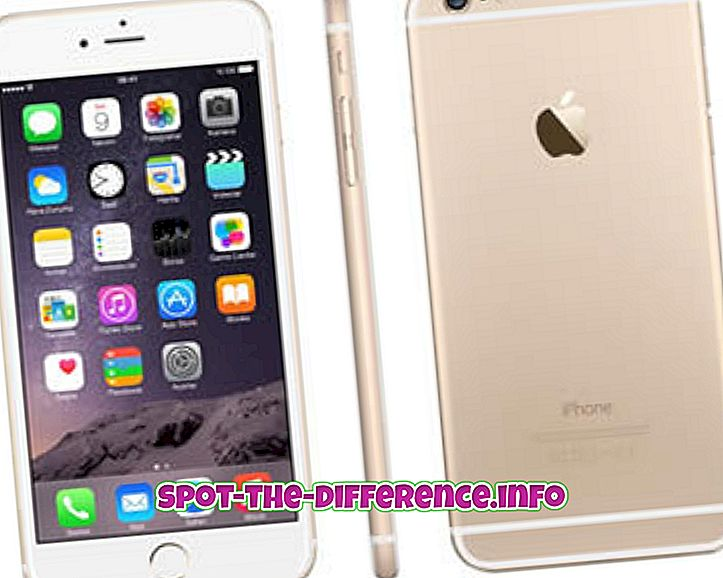 Diferencia entre iPhone 6S y iPhone 6S Plus