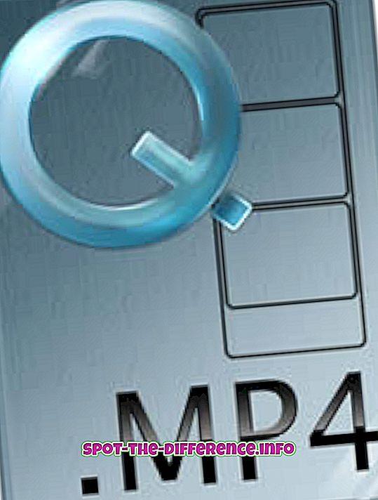 verschil tussen: Verschil tussen MP4 en 3GP