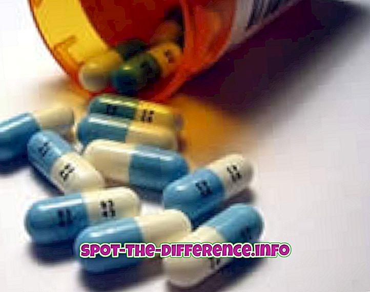 perbedaan antara: Perbedaan antara Steroid dan Suplemen