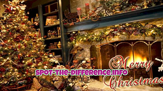 rozdíl mezi: Rozdíl mezi Veselými Vánocemi a Šťastnými svátky