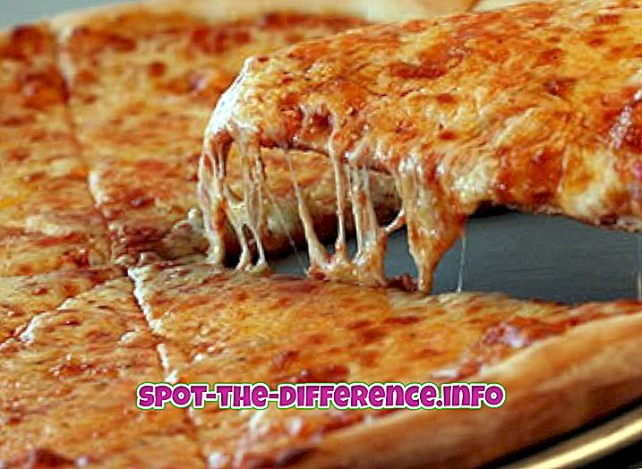 Verschil tussen New York Pizza en Chicago Pizza