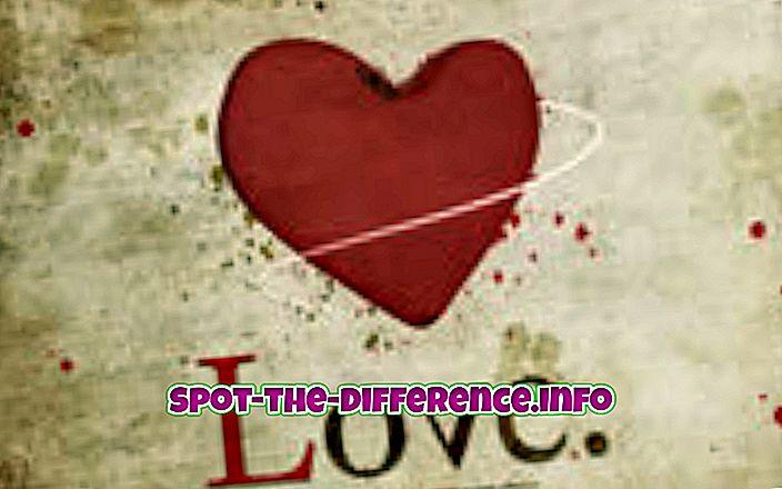 Sự khác biệt giữa tình yêu và hôn nhân