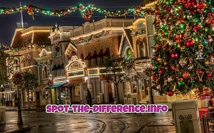 différence entre: Différence entre Noël et Hanoukka