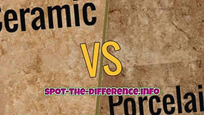 Разлика између керамичких и порцеланских плочица