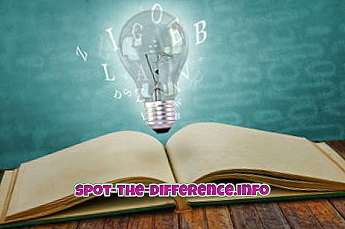 rozdíl mezi: Rozdíl mezi znalostí a dovedností