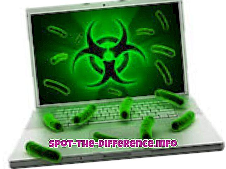Διαφορά μεταξύ του ιού και του Trojan
