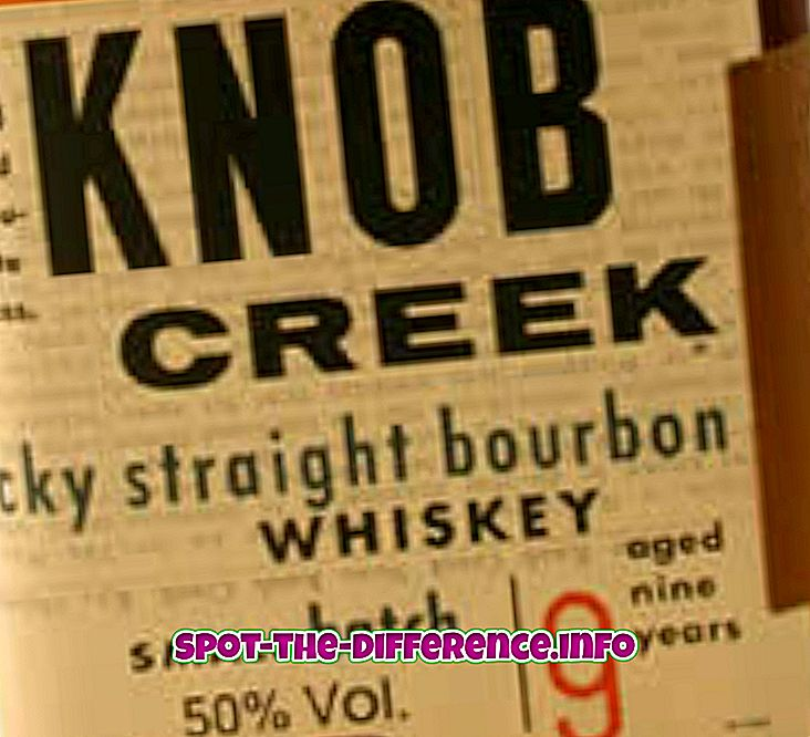 Différence entre Whisky et Whiskey