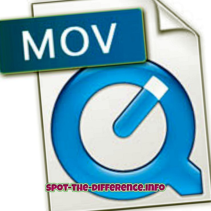 vahe: Erinevus MOV ja AVI vahel