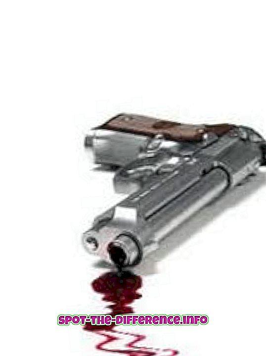 Разлика између убиства и убиства