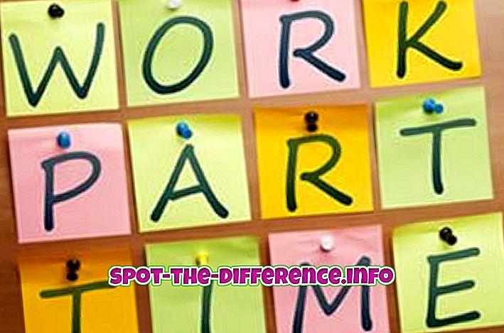 Verschil tussen freelancer en deeltijdwerknemer