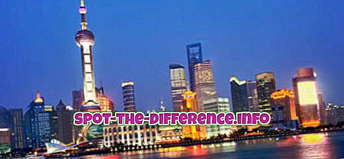 differenza tra: Differenza tra Shanghai e Pechino