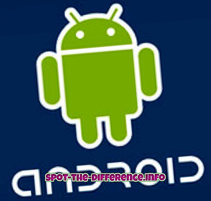a különbség köztük: Az Android és a Windows közötti különbség