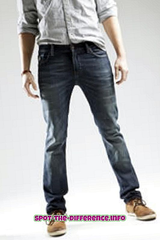 Differenza tra jeans in cotone e jeans denim
