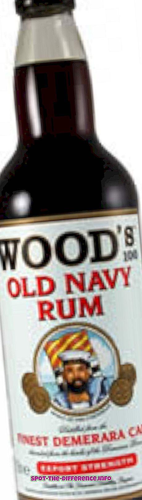 Perbedaan antara Rum dan Brandy