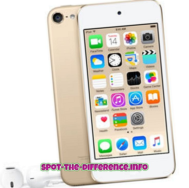 Diferencia entre iPod Touch y iPhone