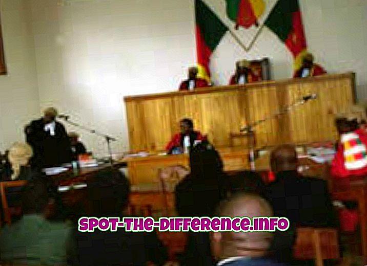 vahe: Tsiviilõiguse ja ühise õiguse erinevus