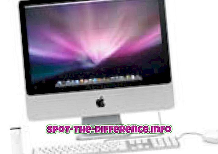 Rozdíl mezi Mac OS X a Windows