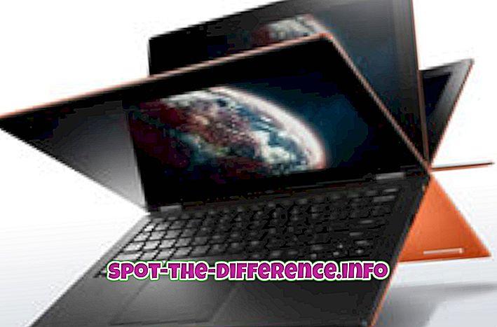 perbedaan antara: Perbedaan antara Lenovo IdeaPad Yoga 11 dan Asus Padfone Infinity