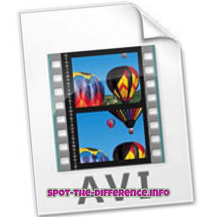 Razlika između AVI i MPEG