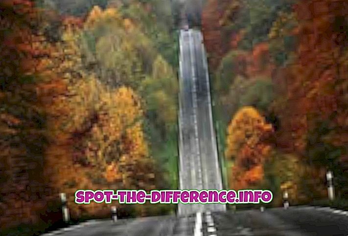 거리와 도로의 차이점