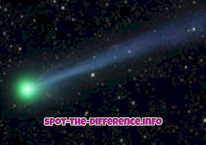 Разлика између комета и планета
